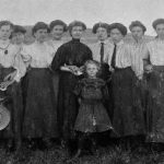 Group photo, clothing documentation (source: archive of the Slovak National Museum - Historical Museum)