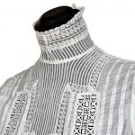 Women's cotton blouse, around 1900 (source: Slovak National Museum - Historical Museum)
