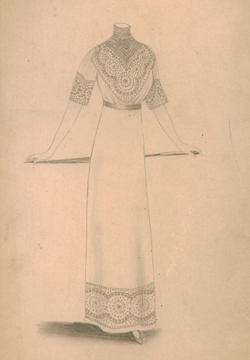 Fashion design by Association Isabella (source: Slovak National Museum - Historical Museum)
