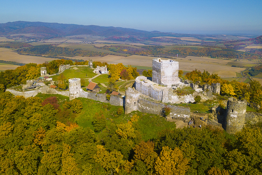 Šariš Castle (photo by Jano Štovka, MQEP)