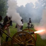 Historical reconstruction of the battles at Devin (photo by Robert Tappert)